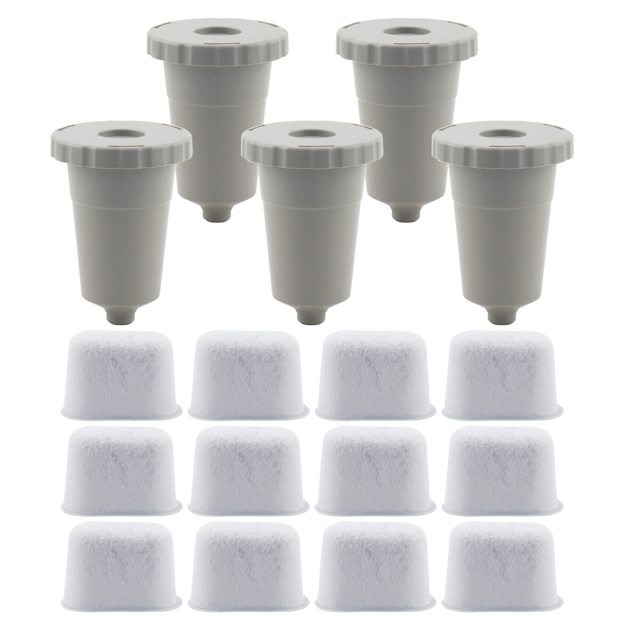 Filter Holder And 6-pack Includes Filter Holder And 6-pack of Keurig 1.0 Compatible Water Filters Keurig Starter Kit Replacement Charcoal Water filter Cartridges for Keurig 1.0 Classic Brewers